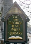 George Hail Free Library in Warren