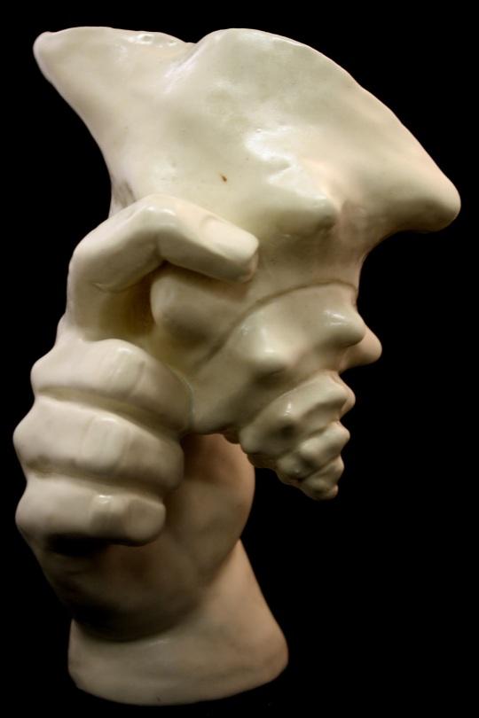 """Hand with Shell"", original work ©Brooke Pacheco"