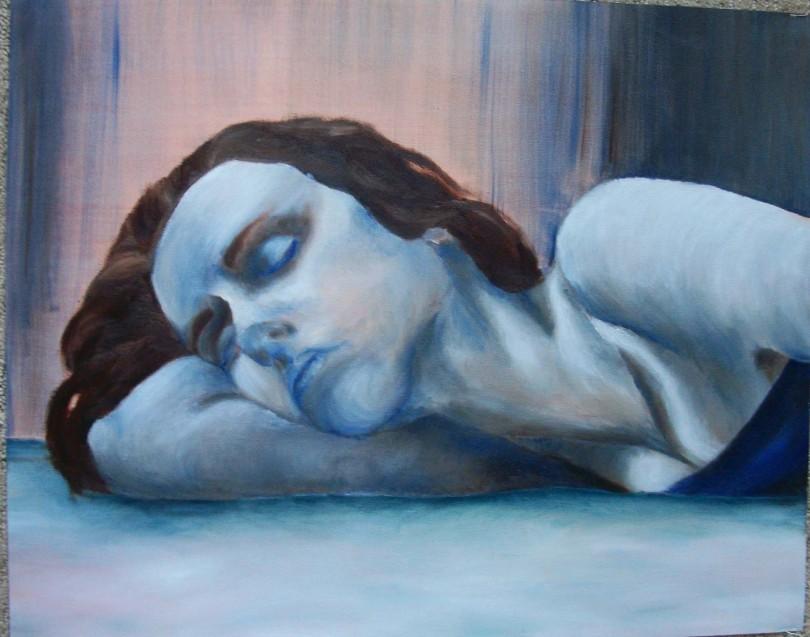 """Self Portrait"", original work ©Alyssa Stuart"