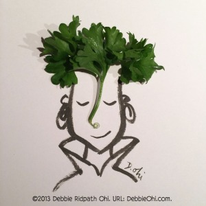 A Portrait in Ink and Parsley